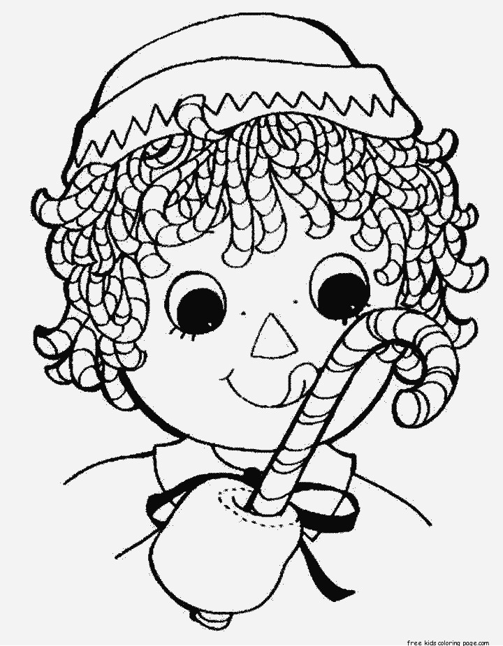 Coloring Sheets For Girls Printable Chistmas  Print out christmas candy canes coloring pages for
