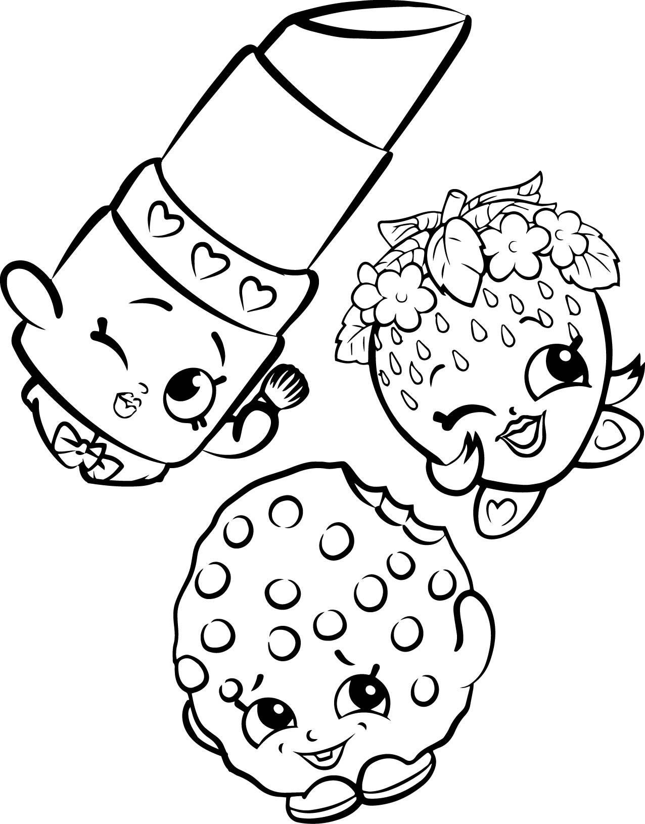 Coloring Sheets For Girls Shopkins  Shopkins Coloring Pages Best Coloring Pages For Kids