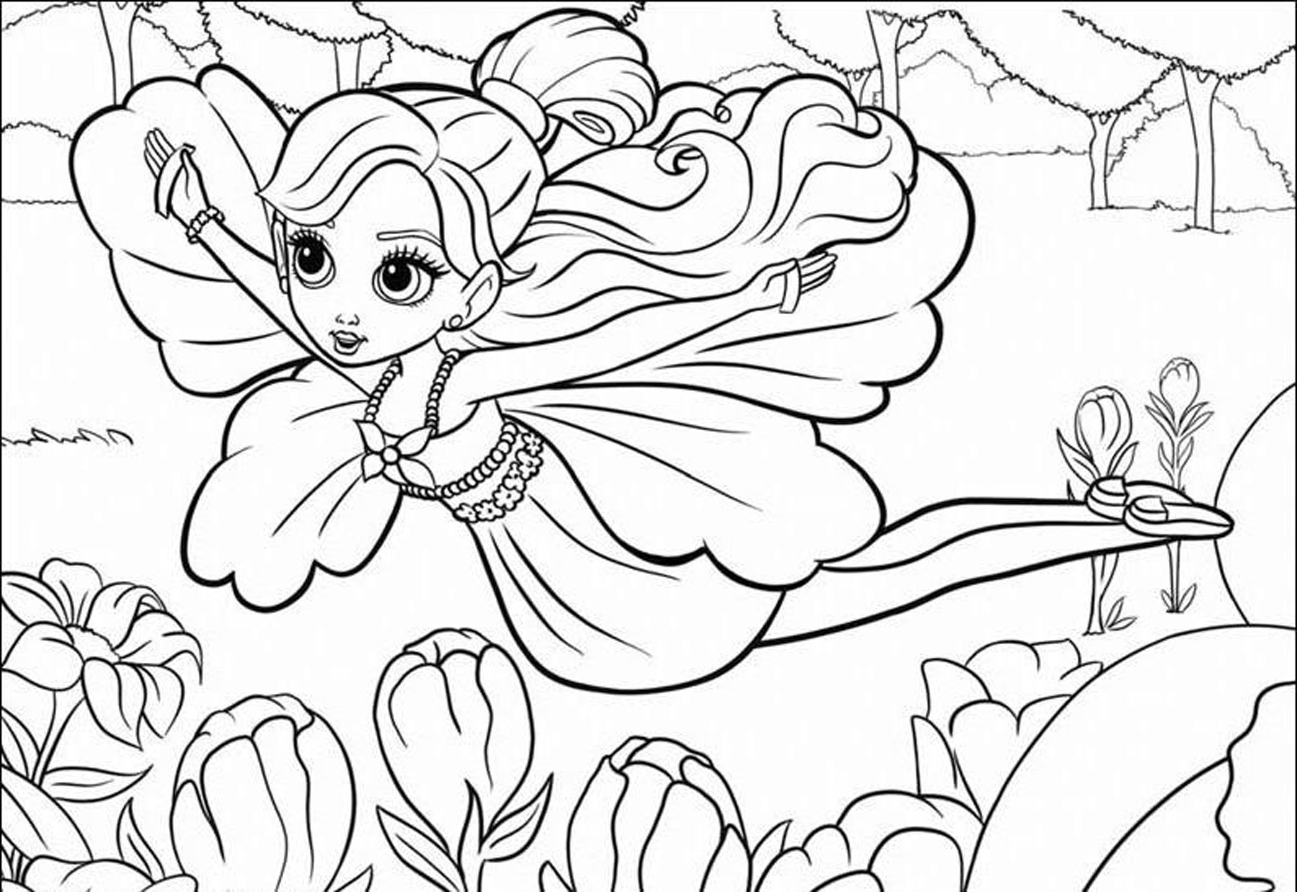 Coloring Sheets For Girls Teen  Cartoon Coloring Pages For Teenagers Girls Kids Colouring