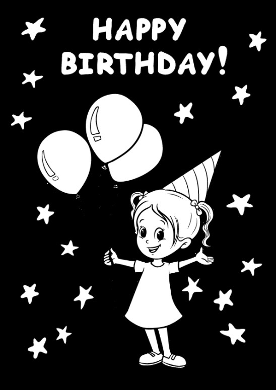 Coloring Sheets For Girls That Have A Birthday9  Free Coloring Pages דפי צביעה Archives Page 3 of 4