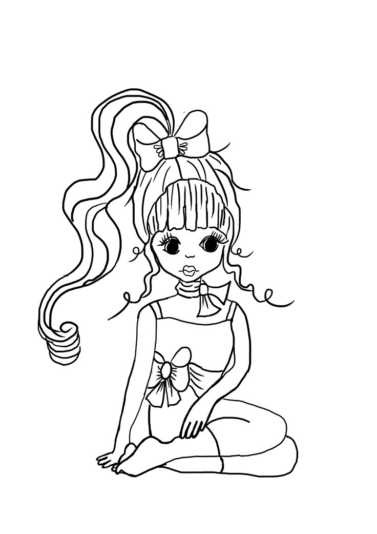 Coloring Sheets For Girls To Color Now  1000 About To COLOR Girly Girl Stuff