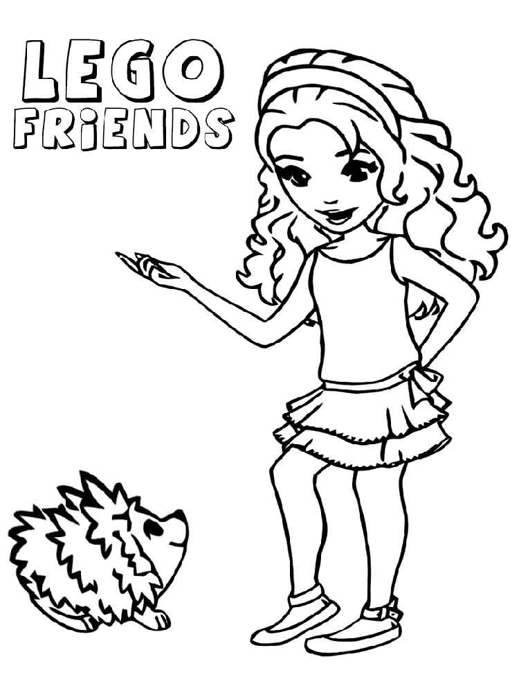 Coloring Sheets For Girls To Color Now  36 Lego Girl Coloring Pages Lego Friends Coloring Pages