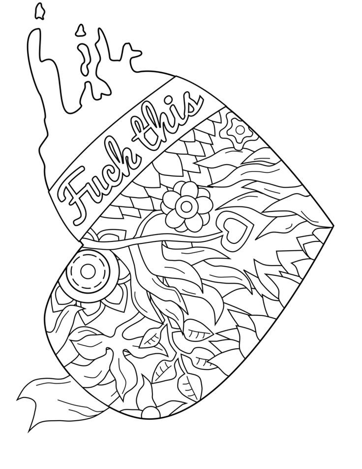 Coloring Sheets For Girls With The Words Dream  Badass Printable Coloring Pages free coloring page