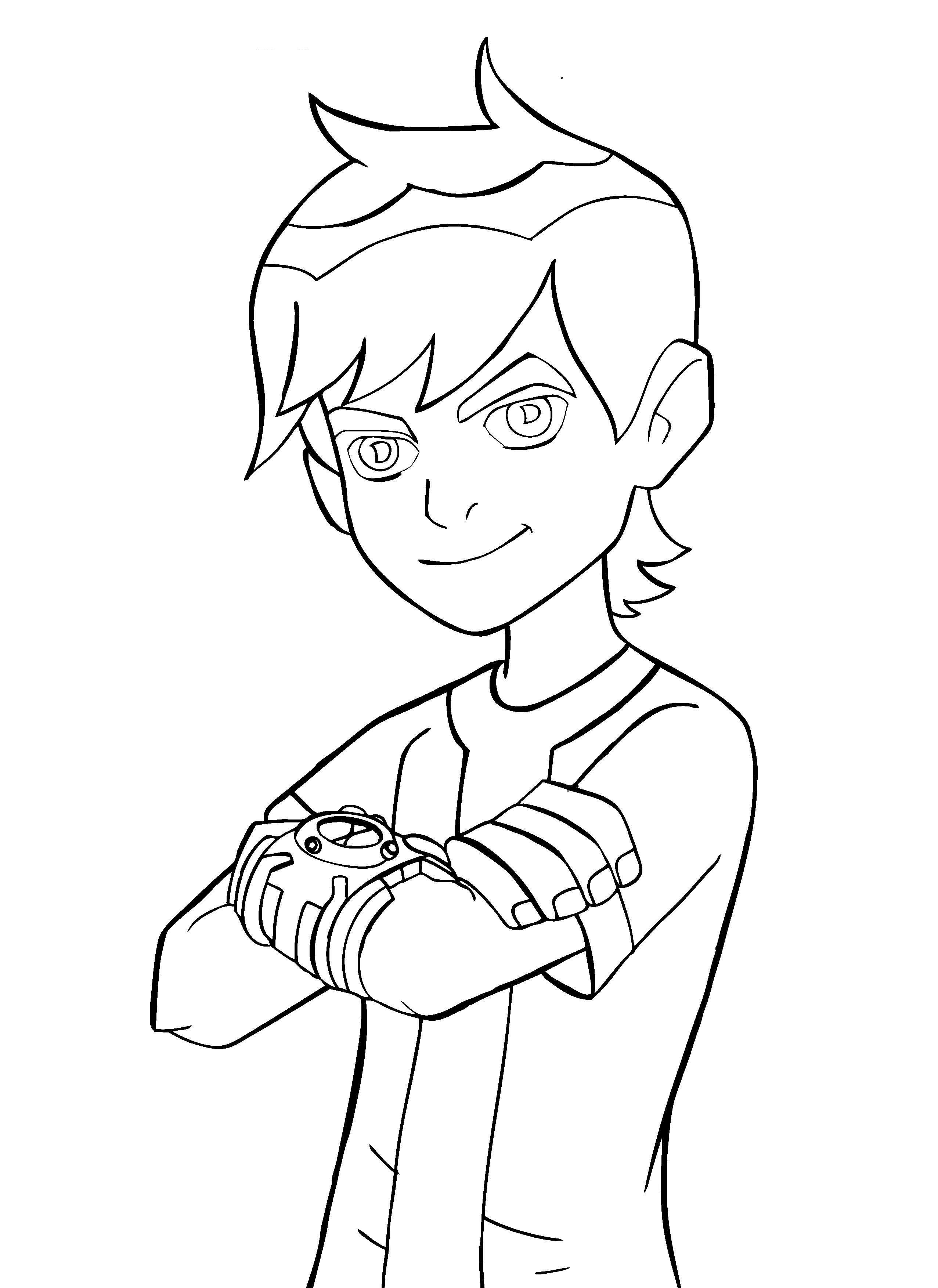 Coloring Sheets For Kids 10  Free Printable Ben 10 Coloring Pages For Kids