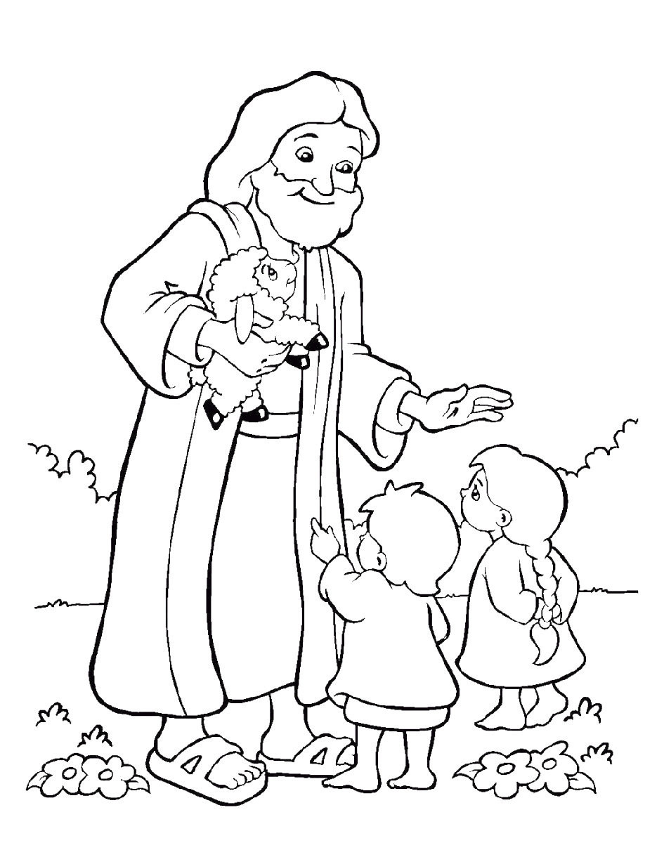 Coloring Sheets For Kids 10  Free Christian Coloring Pages for Kids Children and