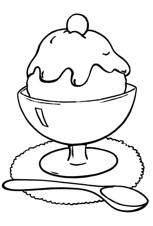 Coloring Sheets For Kids And Girls Printable Sundae  Top 25 Free Printable Ice Cream Coloring Pages line