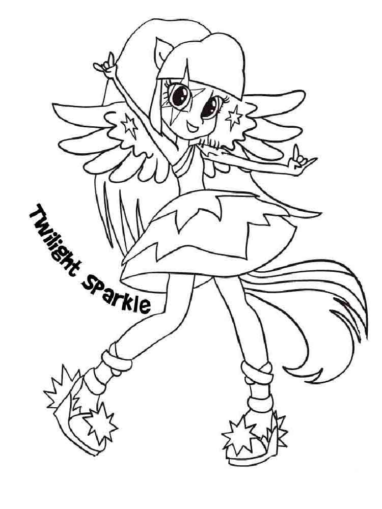 Coloring Sheets For Kids Equestria Girls  Equestria girls coloring pages Download and print