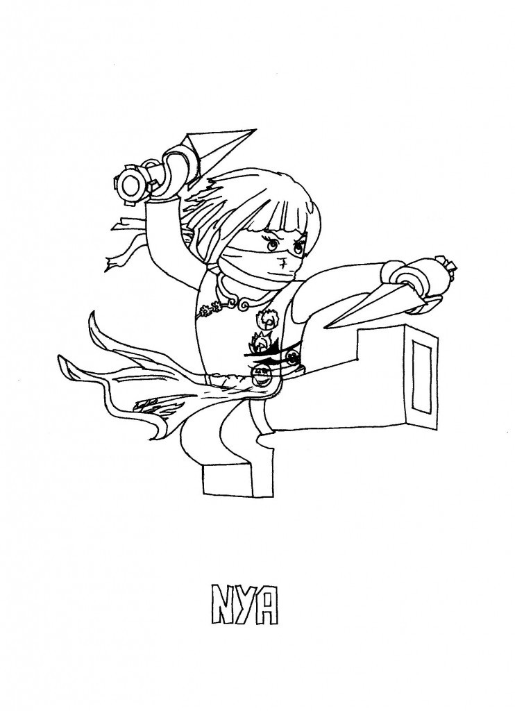 Coloring Sheets For Kids On Worrying  Free Printable Ninjago Coloring Pages For Kids