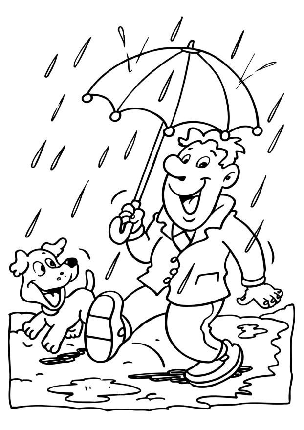 Coloring Sheets For Kids Rainy Days  Rainy Day Coloring Pages Coloring Home