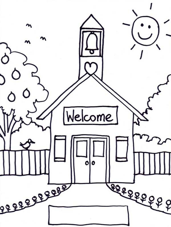 Coloring Sheets For Kids School Time  Back to School Coloring Pages Best Coloring Pages For Kids