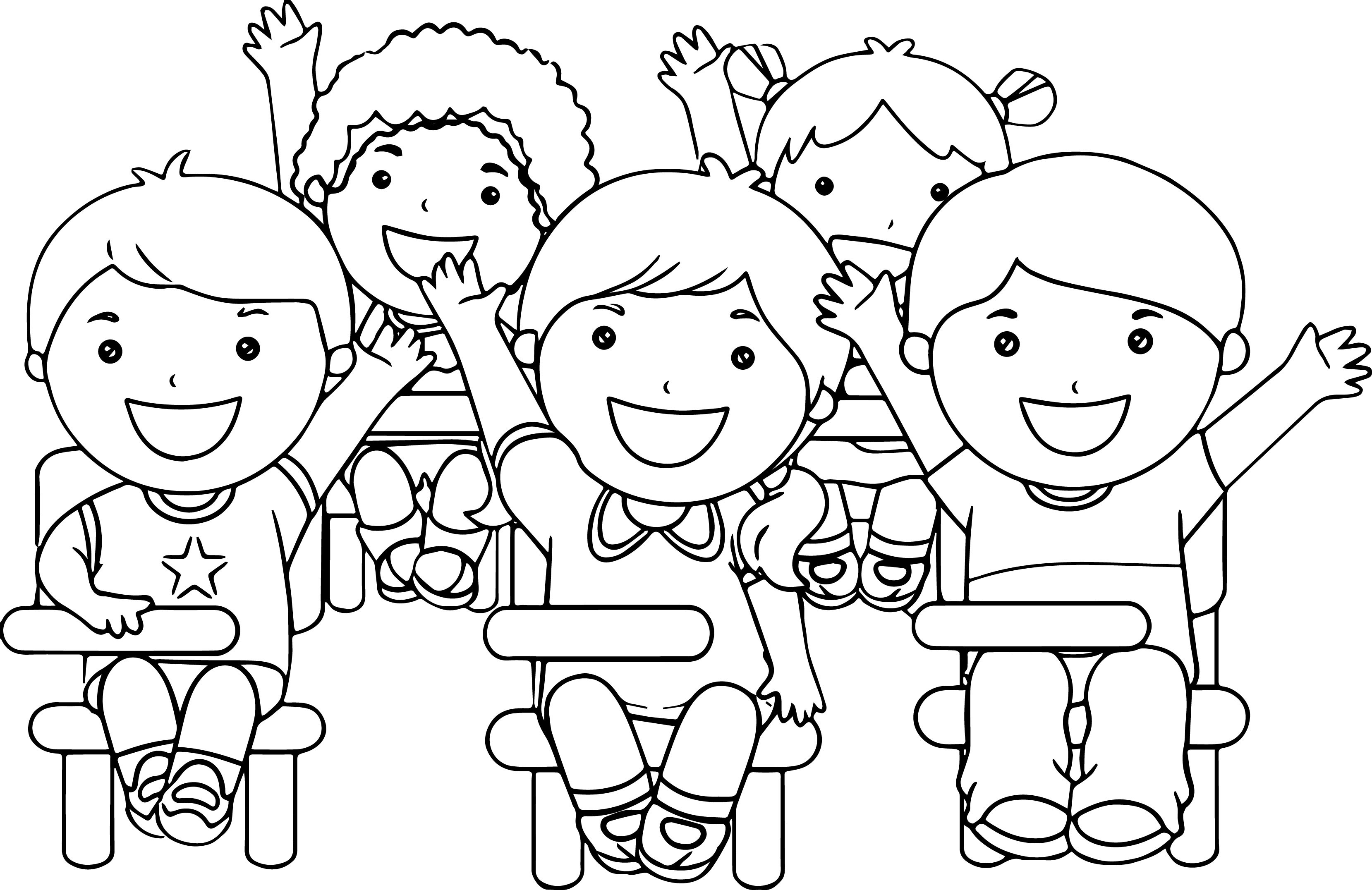 Coloring Sheets For Kids School Time  School Coloring Pages coloringsuite