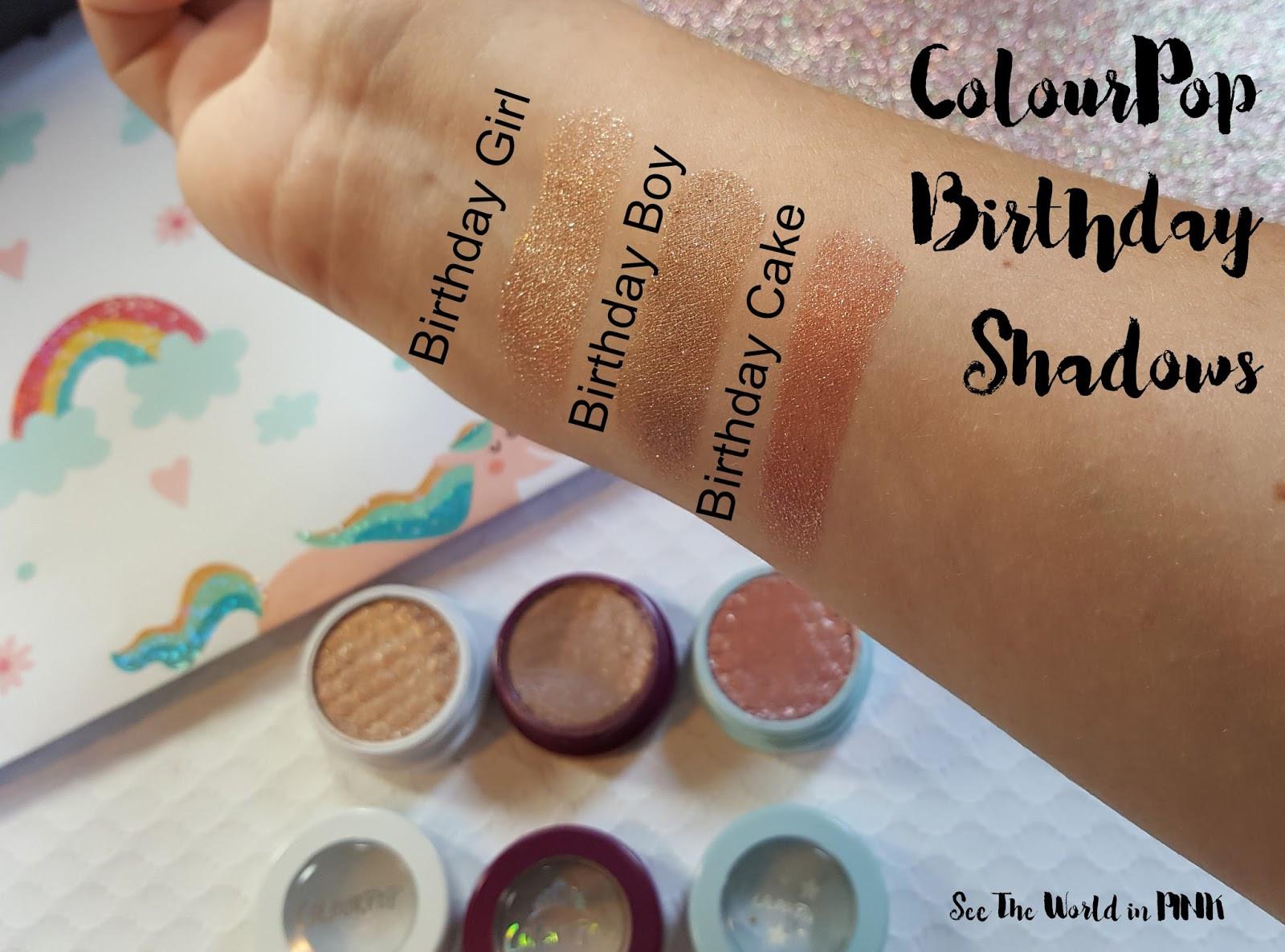 Best ideas about Colourpop Birthday Cake . Save or Pin ColourPop Birthday Super Shock Shadows Birthday Girl Now.