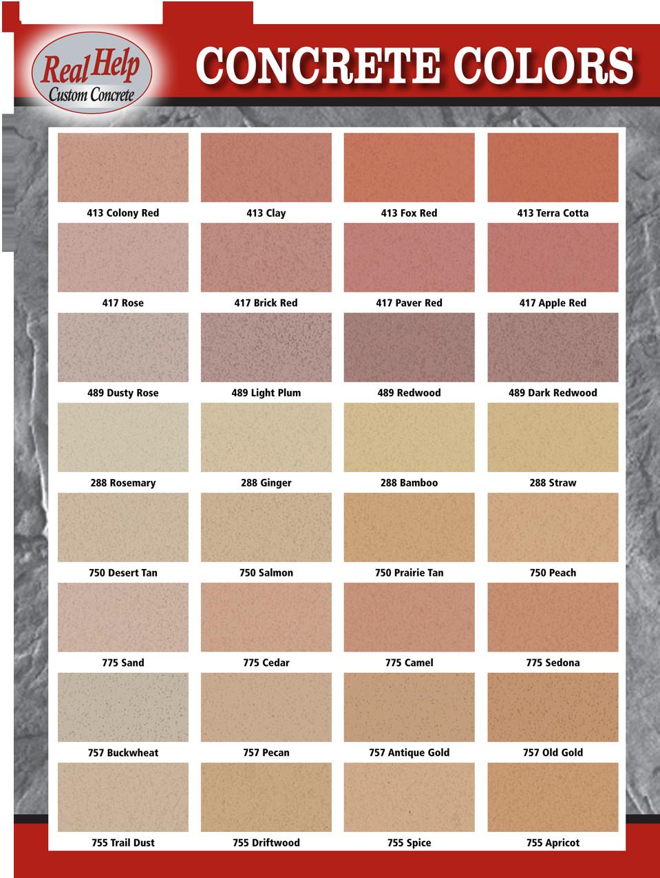Best ideas about Concrete Paint Colors . Save or Pin Concrete Colors Now.
