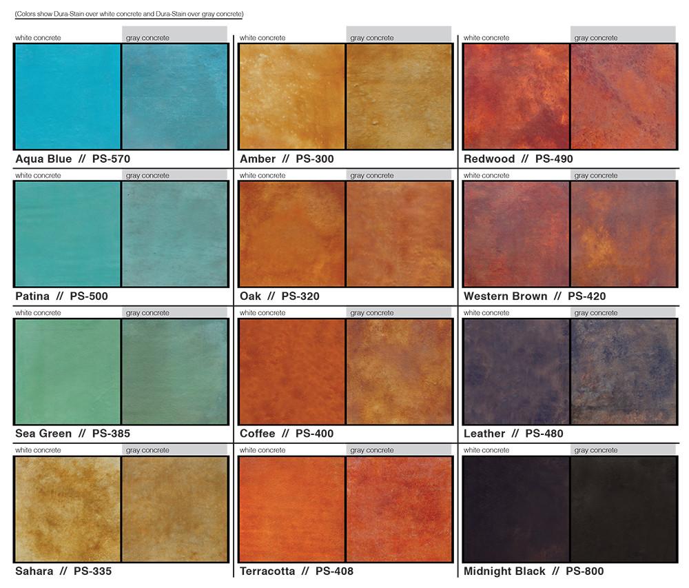 Best ideas about Concrete Paint Colors . Save or Pin COLORED STAINED CONCRETE Stained Concrete can assume Now.