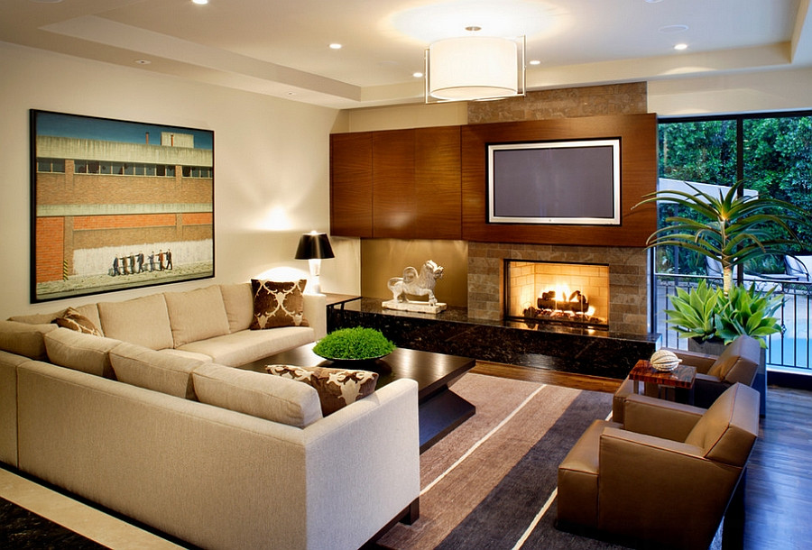 Best ideas about Contemporary Family Room . Save or Pin 55 Incredible Masculine Living Room Design Ideas Inspirations Now.