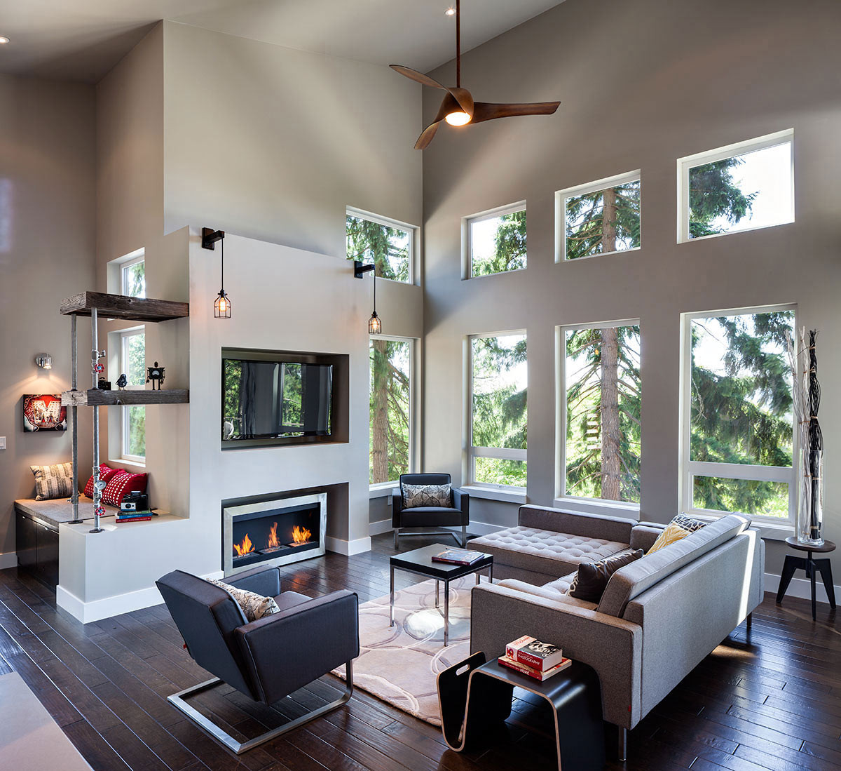 Best ideas about Contemporary Family Room . Save or Pin Modern Home in Eugene Oregon by Jordan Iverson Signature Now.