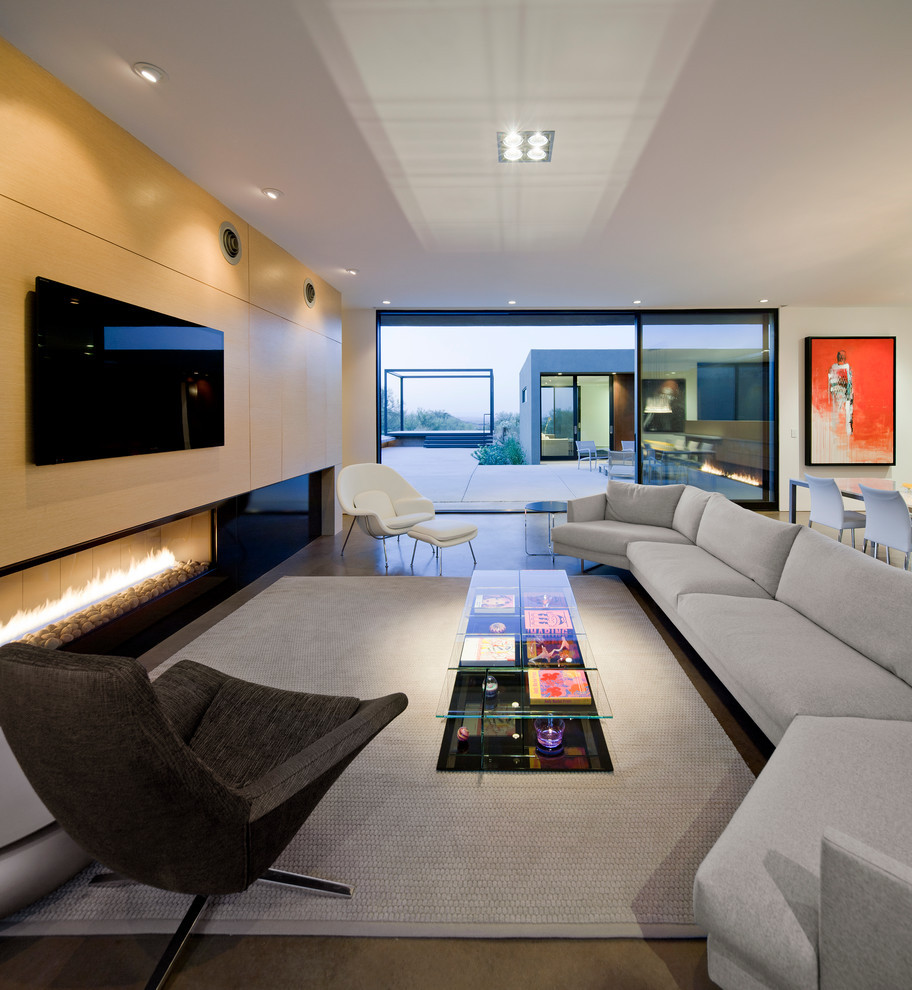 Best ideas about Contemporary Family Room . Save or Pin 21 Fresh Modern Living Room Designs Now.