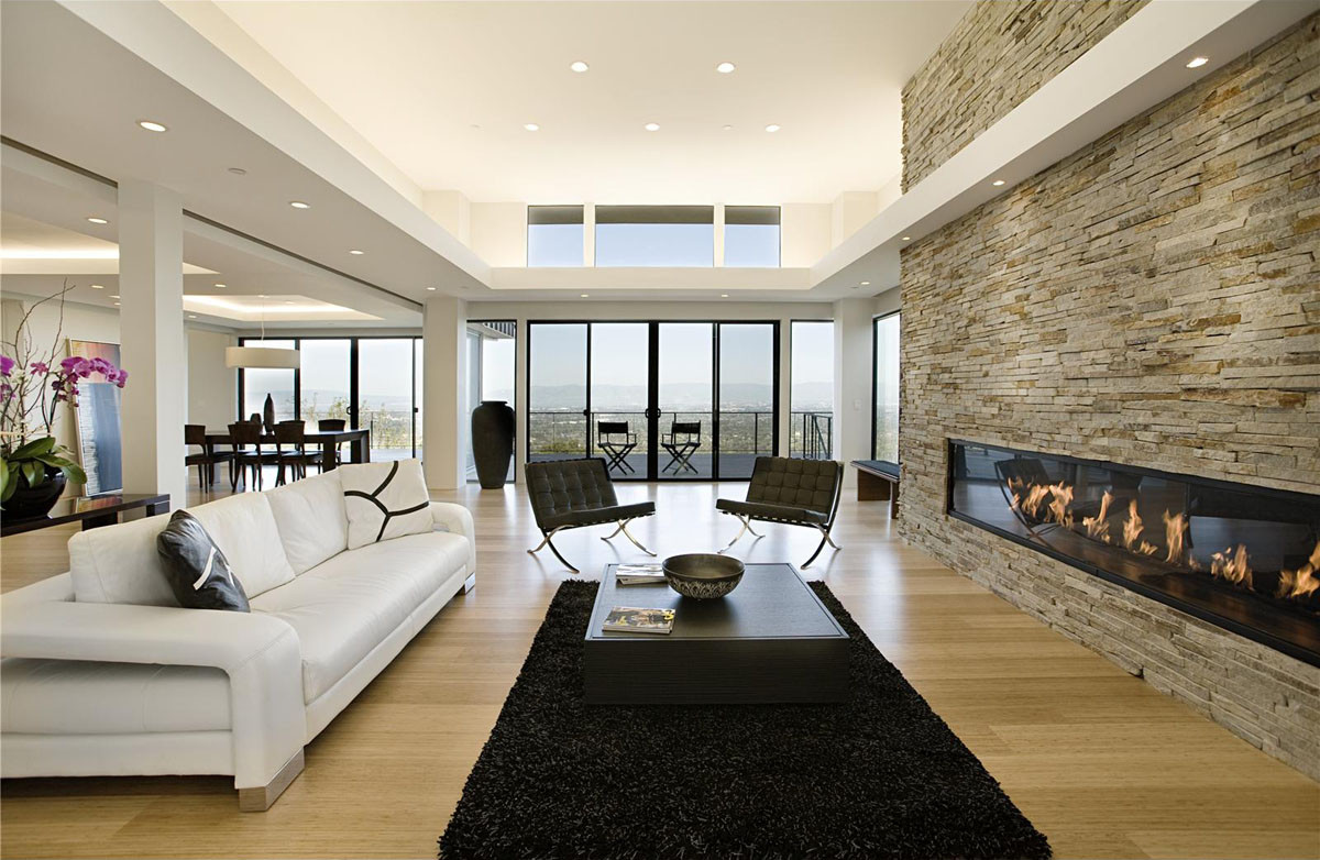 Best ideas about Contemporary Family Room . Save or Pin Modern Home With Sweeping Valley View Now.