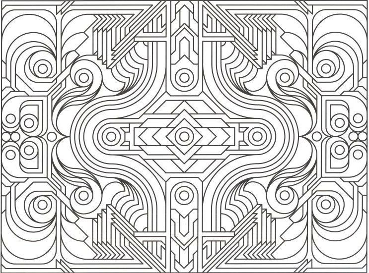 Cool Design Coloring Pages For Boys  Pattern Coloring Pages Bestofcoloring