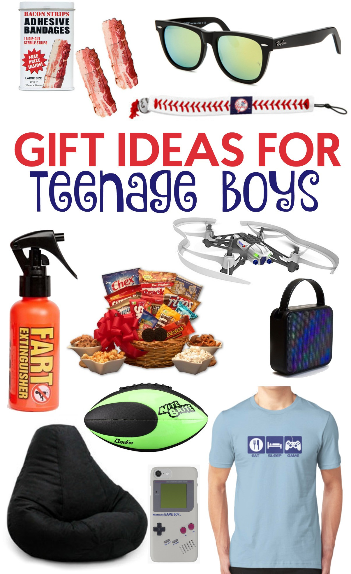 Best ideas about Cool Gift Ideas For Boys . Save or Pin The Perfect Gift Ideas For Teen Boys A Little Craft In Now.