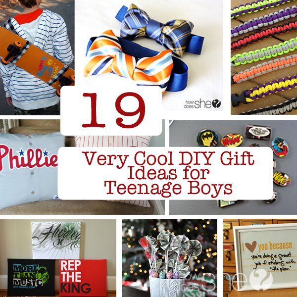 Best ideas about Cool Gift Ideas For Boys . Save or Pin 19 Very Cool DIY Gift Ideas for Teenage Boys Now.