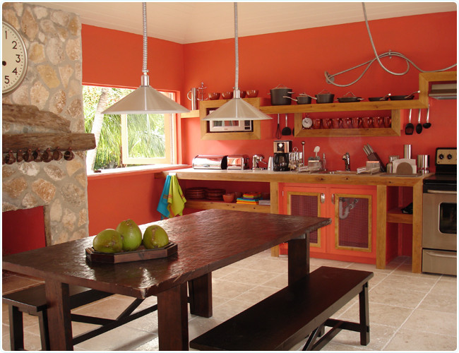 Best ideas about Coral Kitchen Decor . Save or Pin Fresh Home Design Now.
