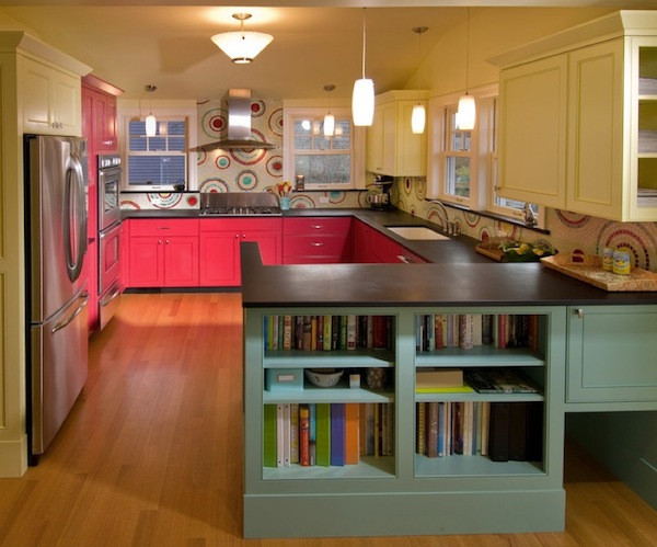 Best ideas about Coral Kitchen Decor . Save or Pin 21 Creative Kitchen Cabinet Designs Now.