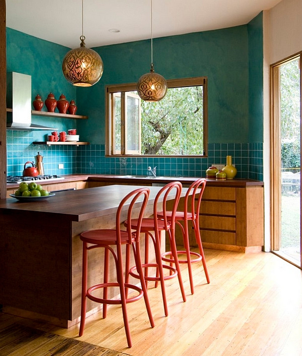 Best ideas about Coral Kitchen Decor . Save or Pin Hot Color Trends Coral Teal Eggplant and More Now.