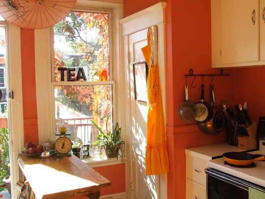 Best ideas about Coral Kitchen Decor . Save or Pin Coral Colors Kitchen Decorating Idea Now.