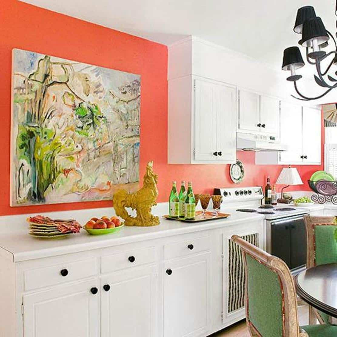 Best ideas about Coral Kitchen Decor . Save or Pin Decorating Kitchen With Coral Color Decorating Ideas Now.