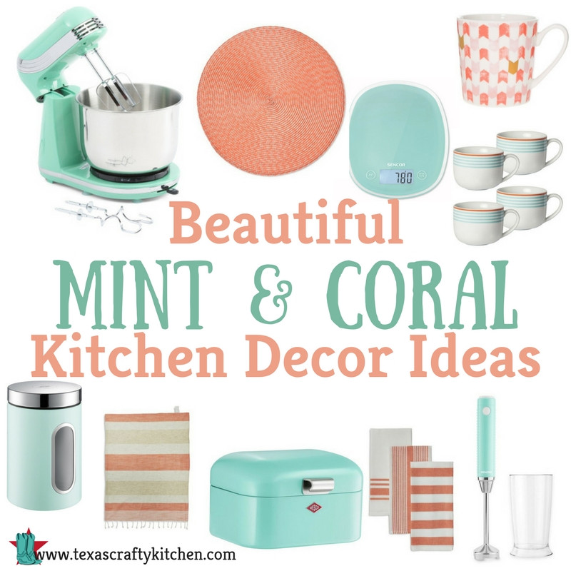 Best ideas about Coral Kitchen Decor . Save or Pin Beautiful Mint and Coral Kitchen Decor Ideas Texas Now.