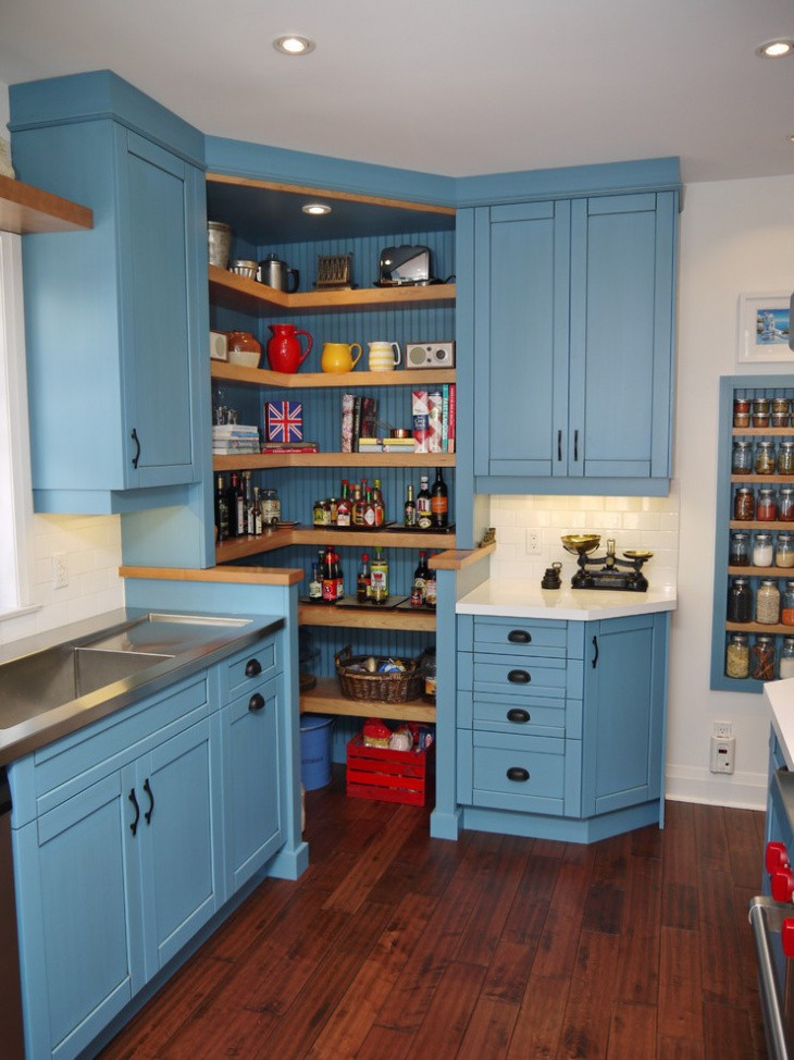 Best ideas about Corner Kitchen Ideas . Save or Pin 18 Kitchen Pantry Ideas Designs Now.