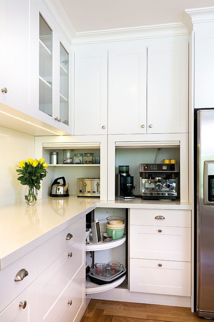 Best ideas about Corner Kitchen Ideas . Save or Pin 30 Corner Drawers and Storage Solutions for the Modern Kitchen Now.