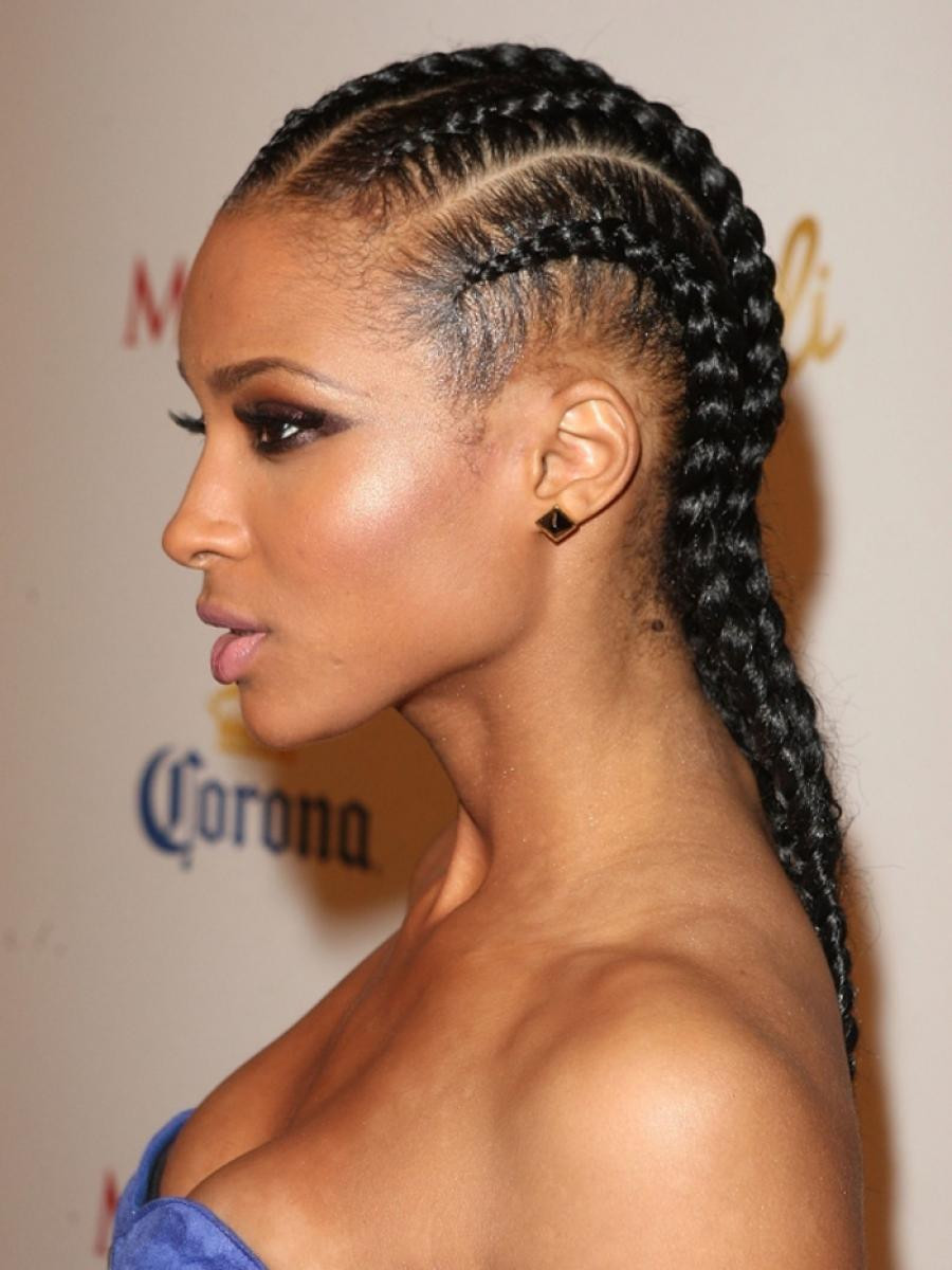 Cornrow Braid Hairstyles  Stunning Braided Hairstyles For Long Hair