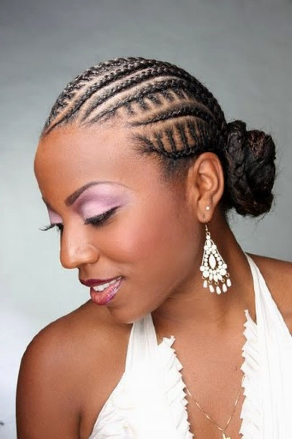 Cornrow Braid Hairstyles  15 Stylish Shoulder Length Hairstyles and Haircuts For Women