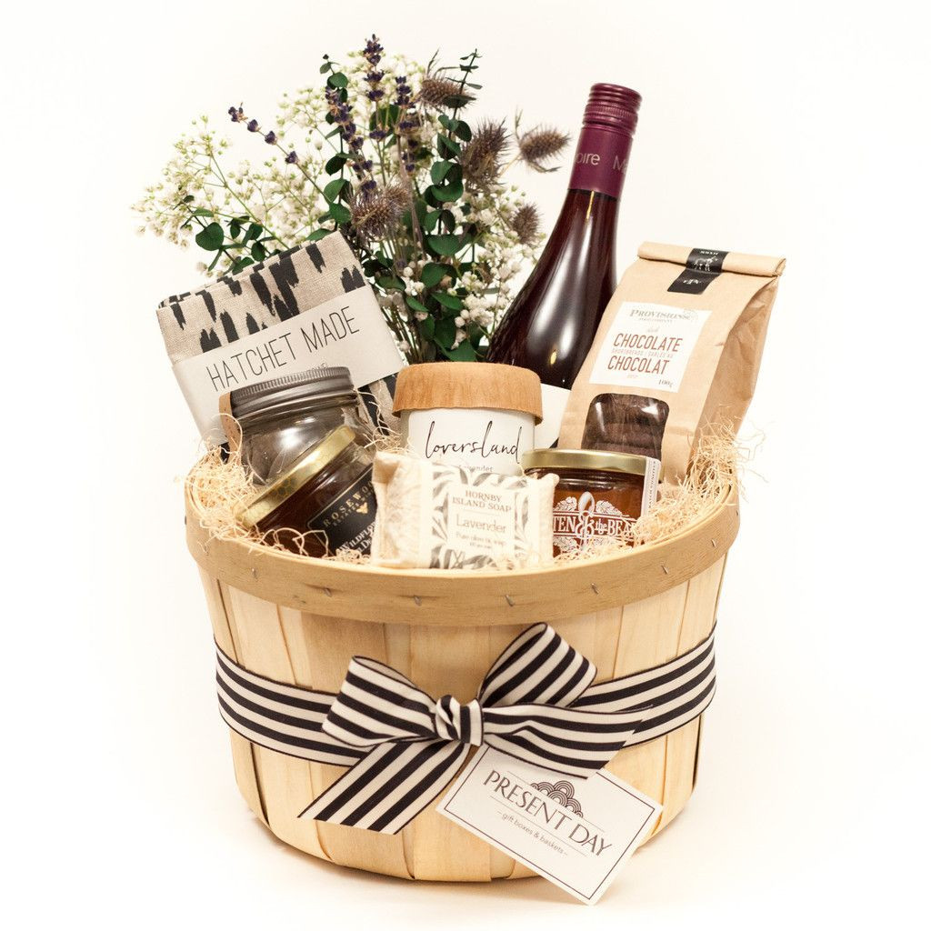 Corporate Thank You Gift Ideas  Local goods basket
