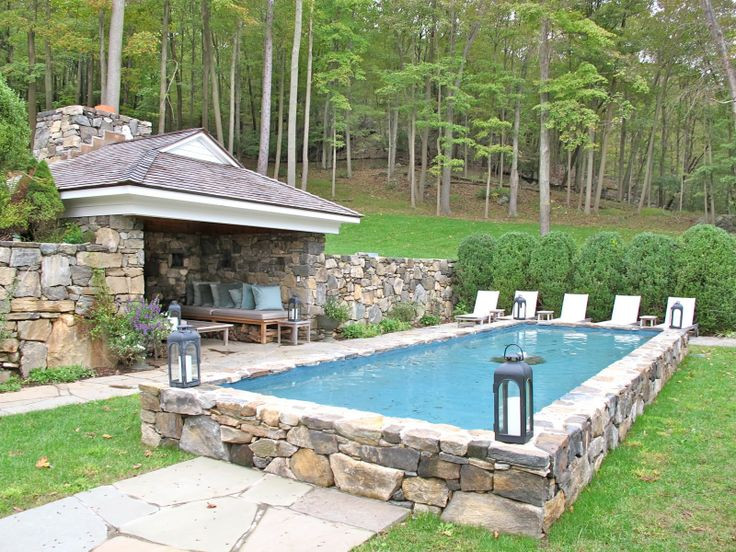 Best ideas about Cost Of An Inground Pool . Save or Pin How Much Does a Semi Inground Pool Cost Now.