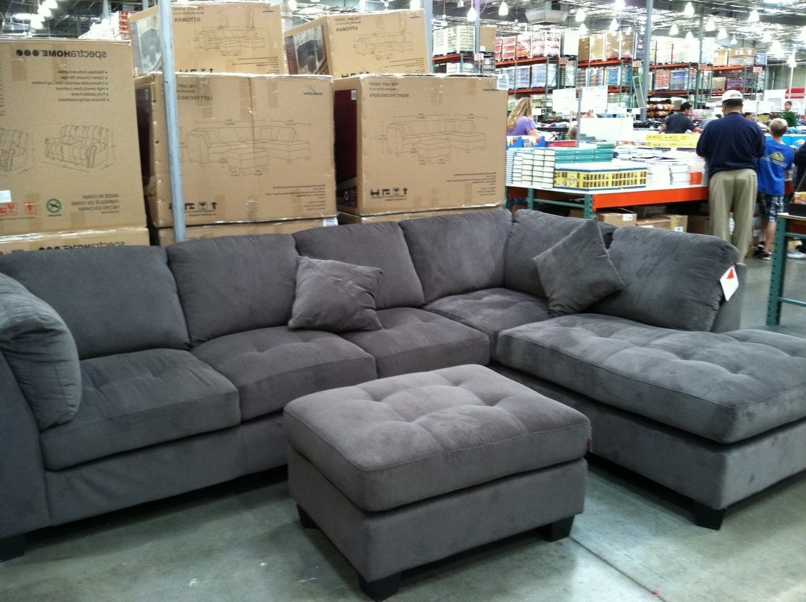Best ideas about Costco Sofa Set . Save or Pin 15 Best Collection of Gray Sectional Sofa Costco Now.