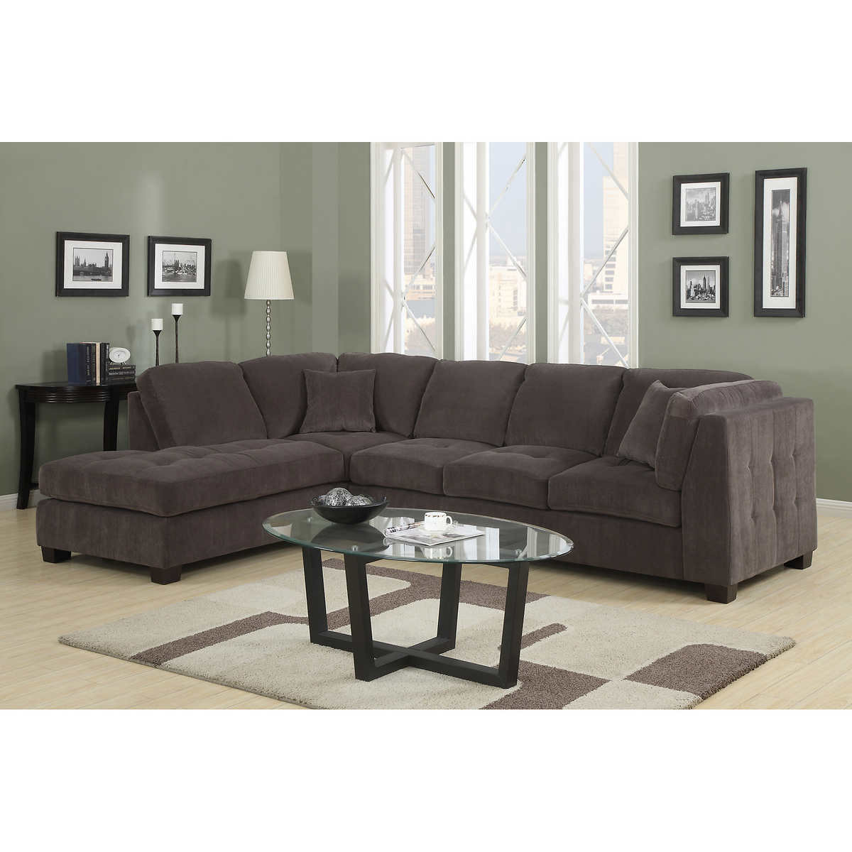 Best ideas about Costco Sofa Set . Save or Pin Gray Sectional Sofa Costco Gray Sectional Sofa Costco Now.