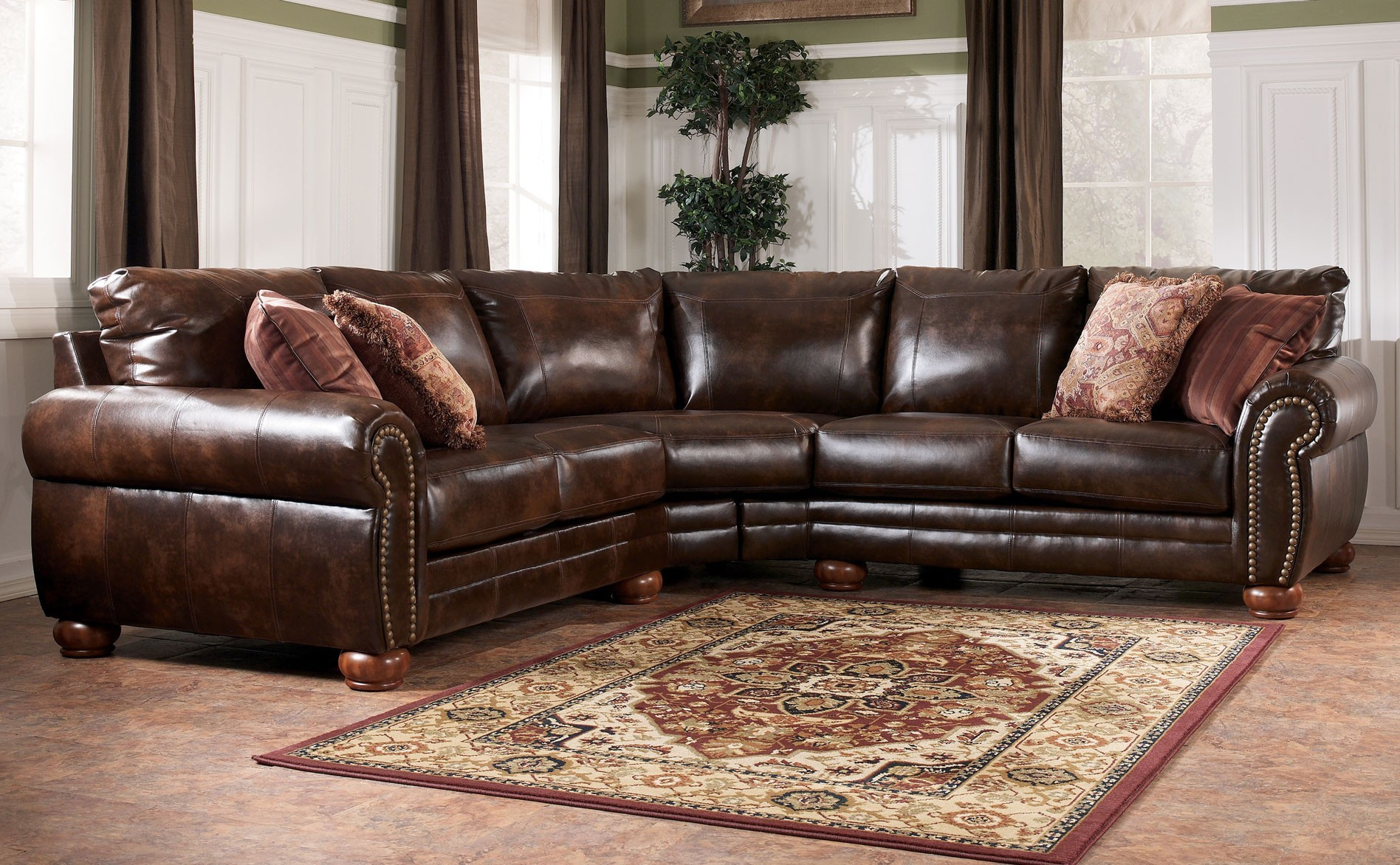 Best ideas about Costco Sofa Set . Save or Pin Leather Sofa Set Costco Plaza Top Grain Leather Sofa And Now.