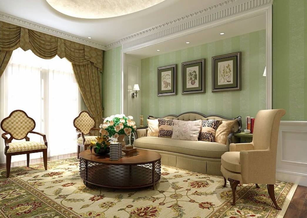 Best ideas about Country Living Room . Save or Pin Country Living Room Wallpaper 10 Home Ideas Now.