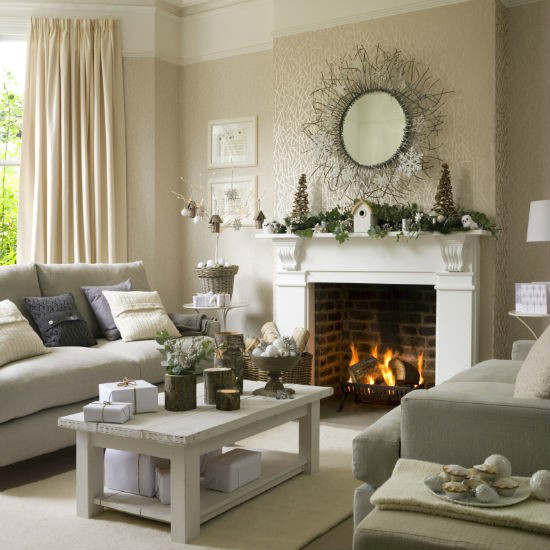 Best ideas about Country Living Room . Save or Pin 33 Best Christmas Country Living Room Decorating Ideas Now.