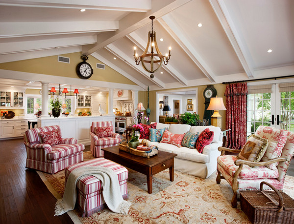 Best ideas about Country Living Room . Save or Pin 20 Dashing French Country Living Rooms House Decorators Now.