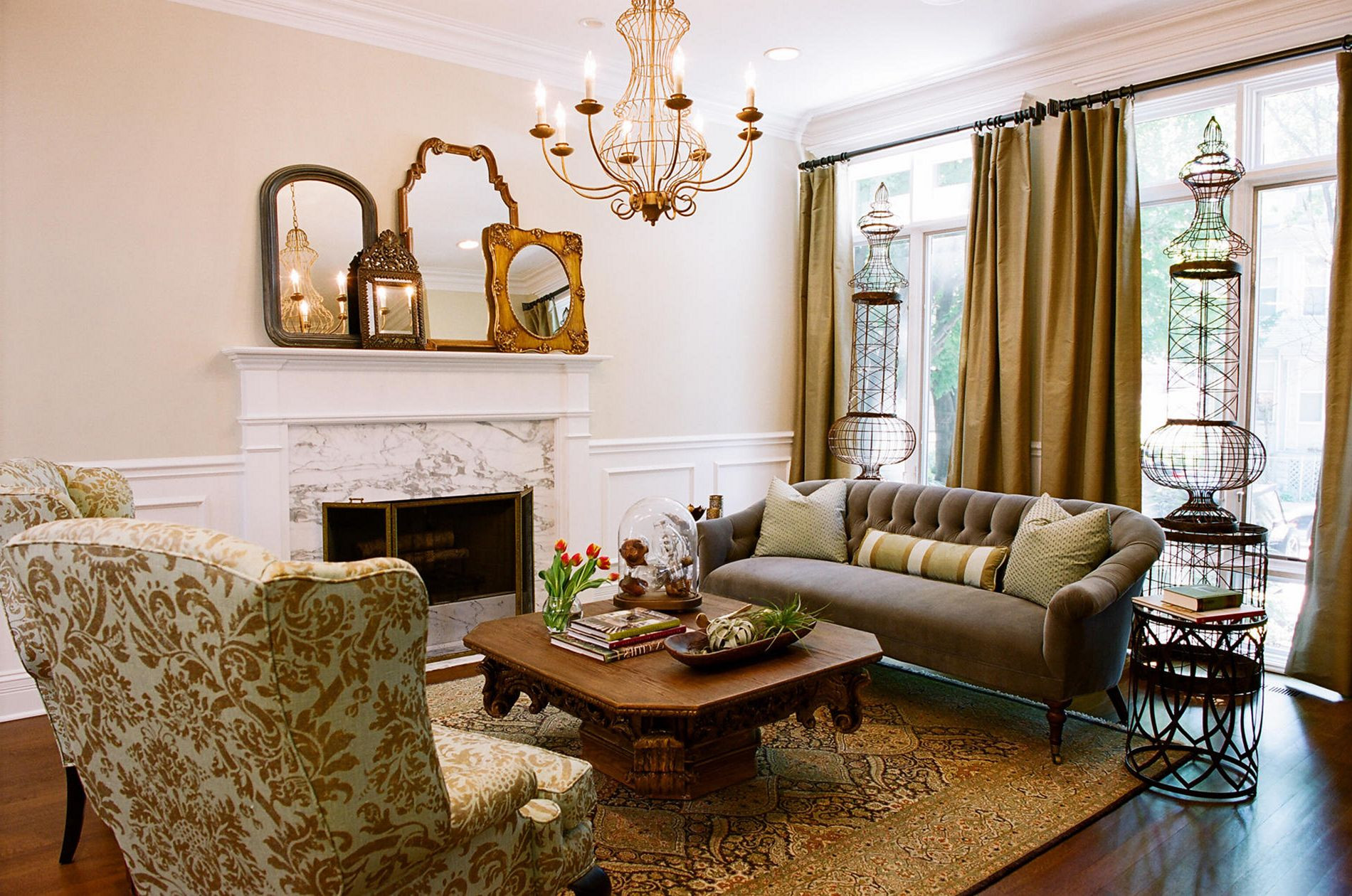 Best ideas about Country Living Room . Save or Pin 24 Top Country Style Rooms Ideas For a Cozy Home – 24 SPACES Now.