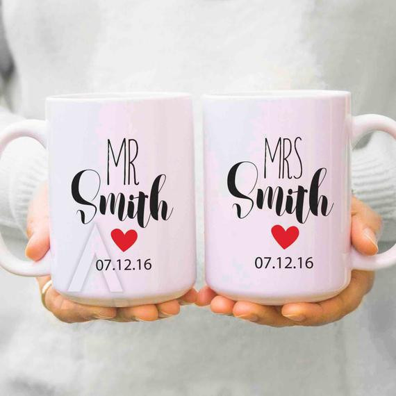 Couple Gift Ideas  couple ts wedding ts for couples his and hers mugs