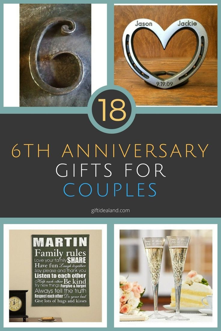 Best ideas about Couple Gift Ideas For Him . Save or Pin The 25 best 6th anniversary ts ideas on Pinterest Now.