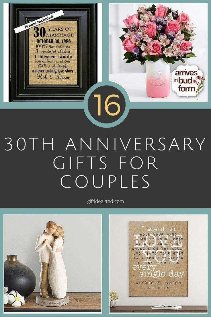 Best ideas about Couple Gift Ideas For Him . Save or Pin 30 Good 30th Wedding Anniversary Gift Ideas For Him & Her Now.