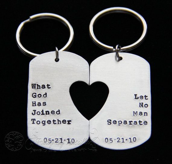Couple Gift Ideas Your Boyfriend  Gift for husband boyfriend Couples Gift What God has