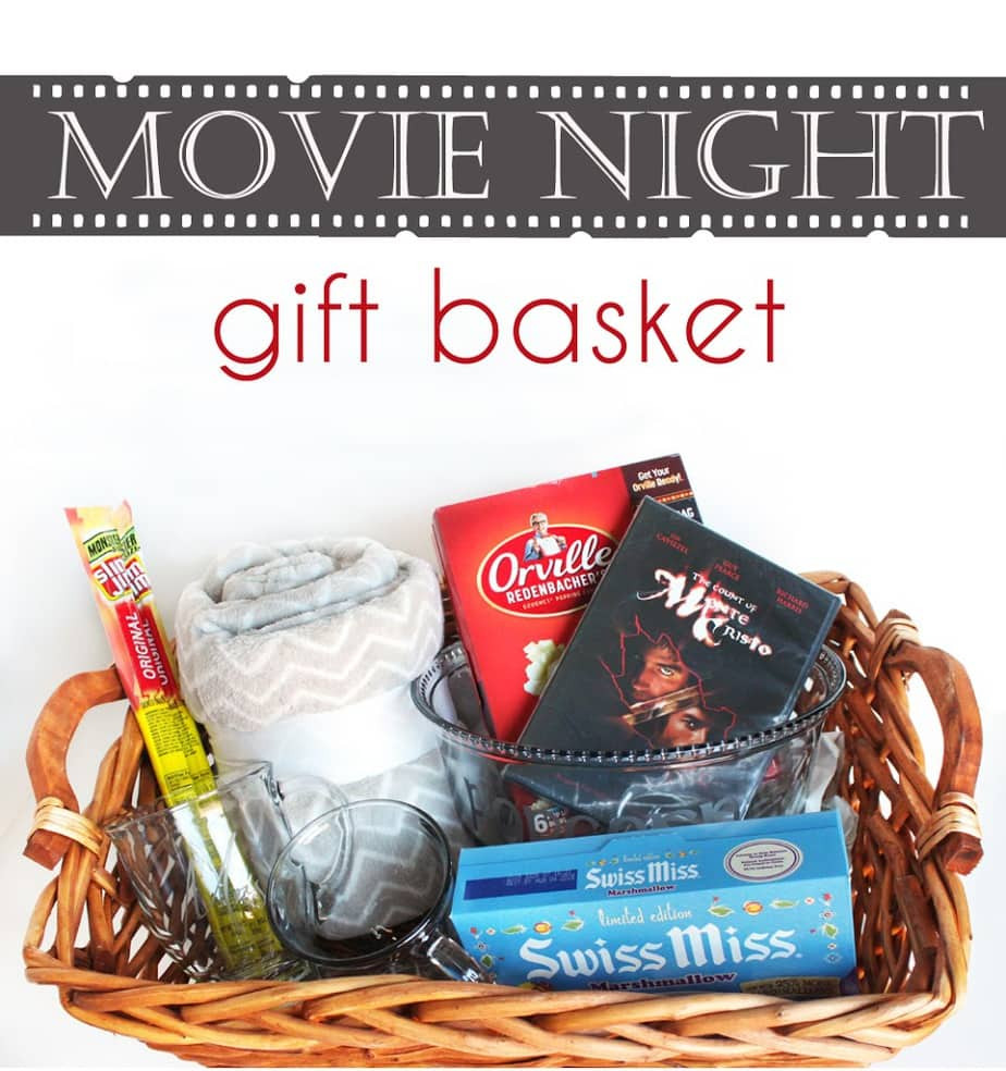 Best ideas about Couples Gift Basket Ideas . Save or Pin Hot Chocolate and Popcorn Movie Night Gift Basket Cutesy Now.