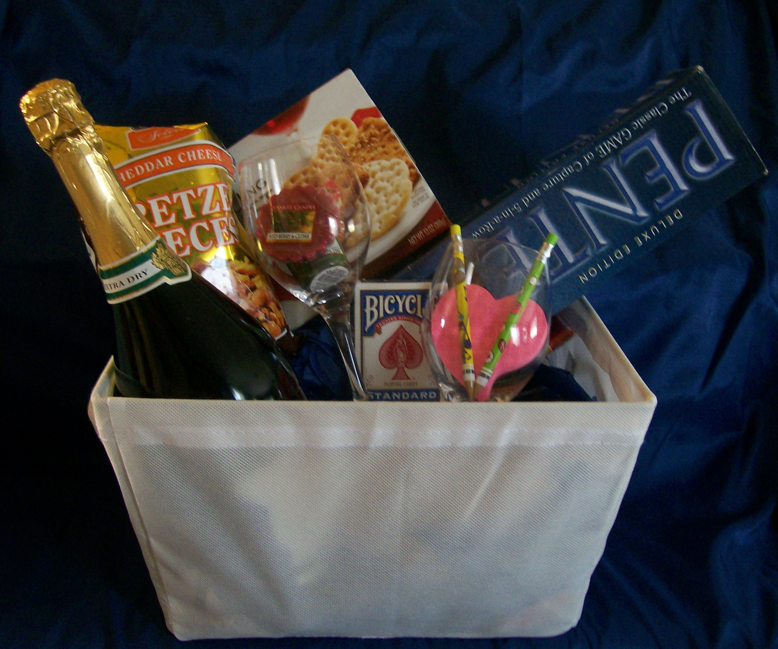 Best ideas about Couples Gift Basket Ideas . Save or Pin Game Gift Basket Ideas for a Couple – All About Fun and Games Now.